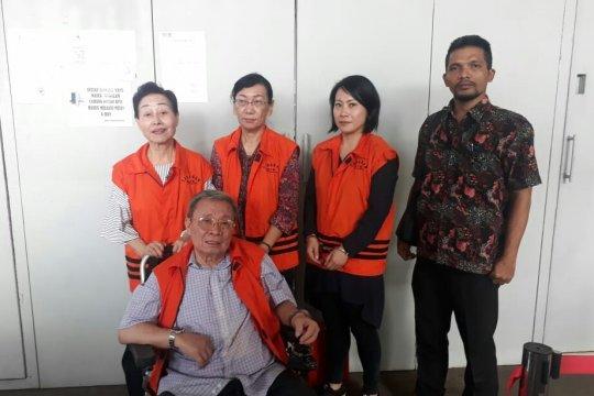 Empat terpidana kasus suap SPAM dieksekusi lapas di Tangerang