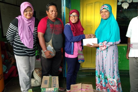 Panti Asuhan mendapat bantuan wartawan di Sorong saat Ramadhan