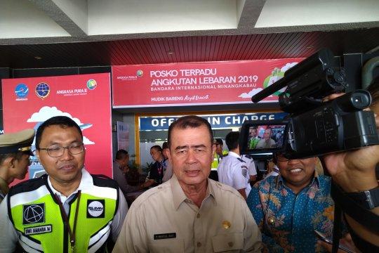 Arus mudik di Bandara Internasional Minangkabau meningkat
