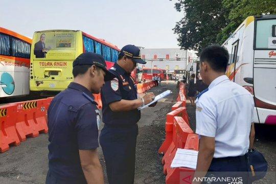 Dishub Bogor periksa 174 bus mudik, hanya 16 laik jalan