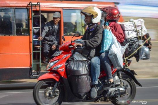 Pemudik diimbau tidak gunakan sepeda motor