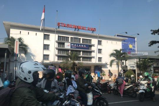 Stasiun Kotabaru Malang belum ada lonjakan penumpang