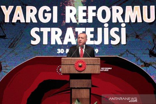 Erdogan: Turki tetap berkomitmen untuk jadi anggota penuh Uni Eropa