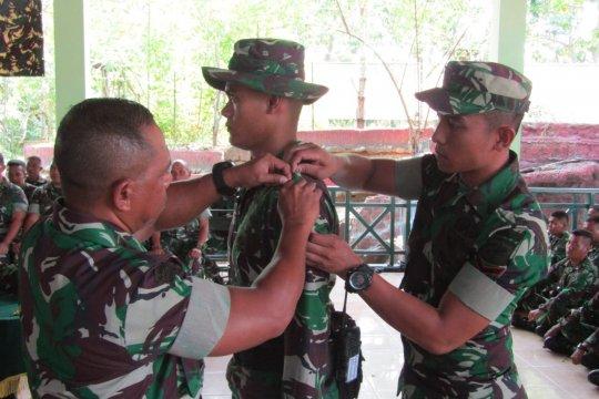 Danrem Tutup Latihan Pengamanan Perbatasan Yonif 713