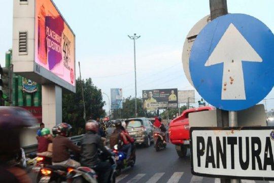 Ruas jalan Kalimalang Bekasi masih lancar