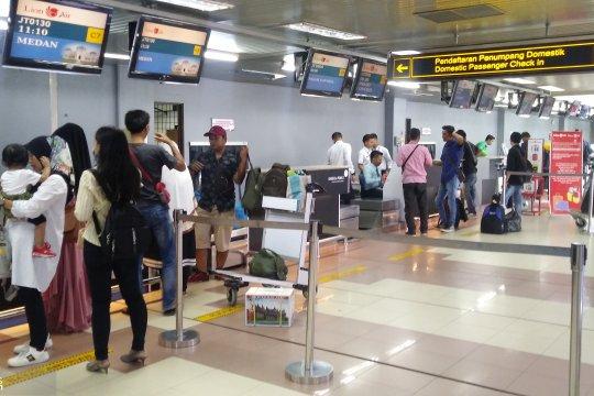 H-6 Lebaran, 6.543 pemudik tiba di Bandara Minangkabau