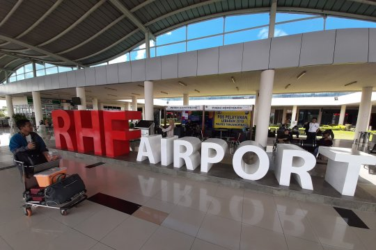 Lonjakan penumpang mudik Bandara RHF Tanjungpinang dimulai sejak H-7