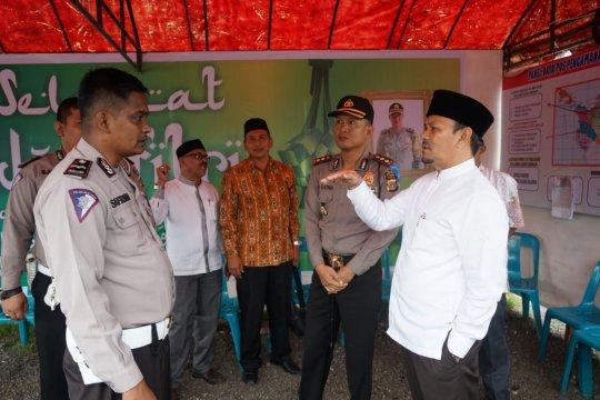 Posko mudik sangat membantu masyarakat, sebut Bupati Aceh Besar