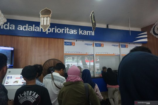 70 tiket kereta dibatalkan di Stasiun Pasar Senen