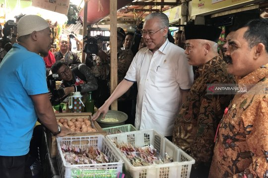 Mendag jamin pasokan bahan pokok di Kabupaten Malang cukup
