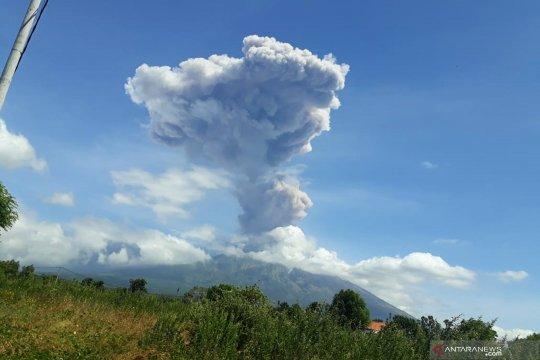 BPBD Bali imbau warga tetap tenang pasca-letusan Gunung Agung