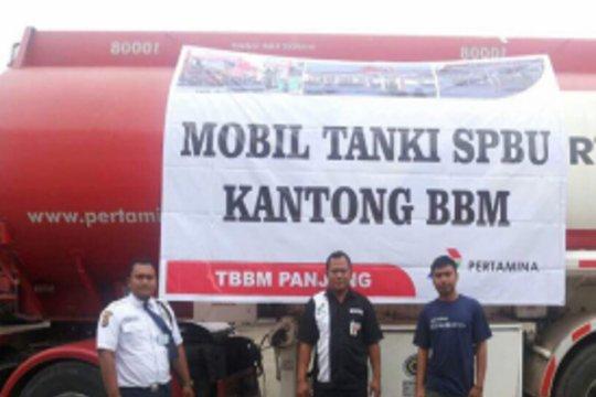 Pertamina tambah SPBU modular dan mobil dispenser di JTTS