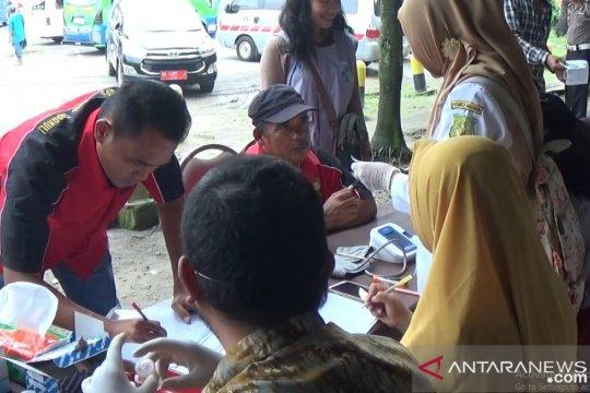Pengemudi di Terminal Ubung-Mengwi Bali lakukan tes urine jelang mudik