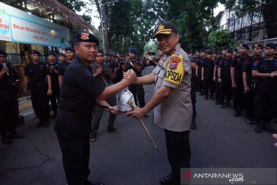Kapolda Kalsel beri semangat personel Brimob BKO di Jakarta