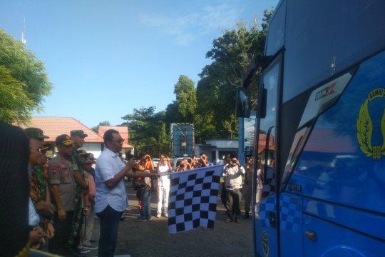 Gubernur NTB lepas mudik gratis ke Pulau Sumbawa