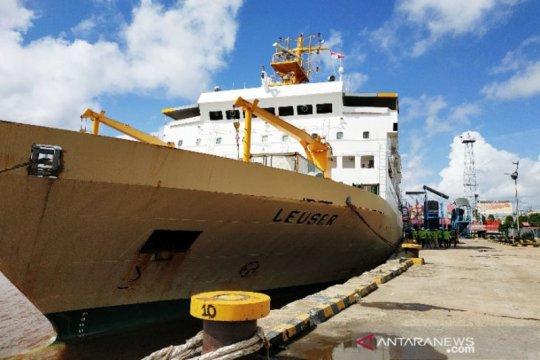 744 penumpang mudik gratis BUMN diberangkatkan dari Pelabuhan Sampit