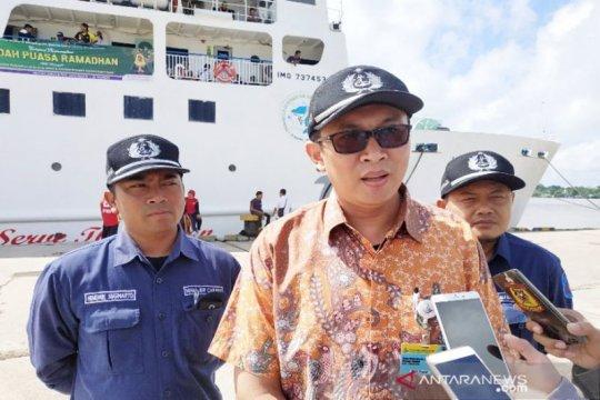 Penumpang PT DLU meningkat 10 persen di Pelabuhan Sampit