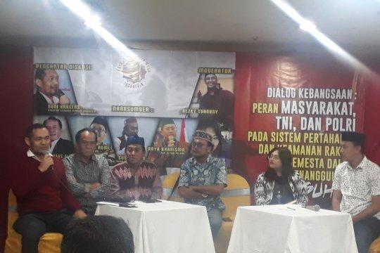 Boni Hargens ajak masyarakat dukung TNI-Polri