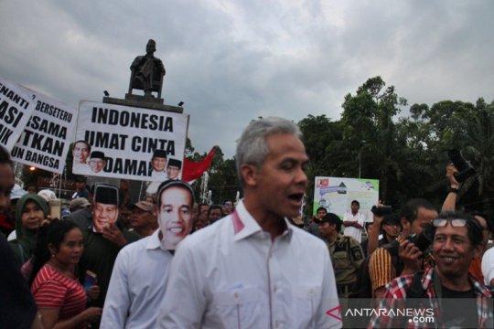 Warga Solo gelar aksi damai jaga persatuan Indonesia