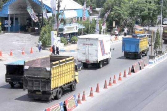 Arus lalu lintas di Jalan Medan-Lubuk Pakam masih normal