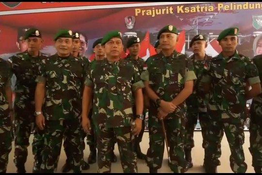 Ajak petinggi OPM ke NKRI, 10 prajurit TNI naik pangkat luar biasa