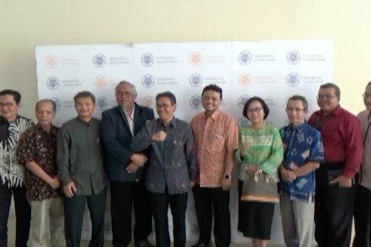 Civitas akademika UGM sampaikan pesan persatuan