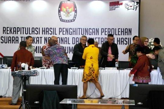 KPU rekapitulasi suara Papua Barat dan DKI Jakarta
