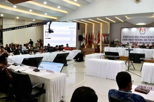 KPU segera proses rekapitulasi suara 6 provinsi dan 1 PPLN