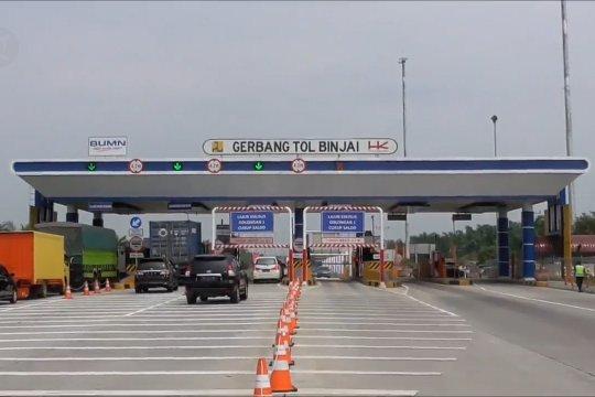Tarif Tol Medan-Binjai diskon 15 persen