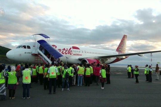Jelang Lebaran, rute penerbangan di Banggai bertambah