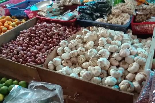 Stok bawang putih di Jayapura kosong