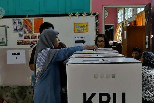 Partisipasi pemilih di Temanggung capai 87,67 persen