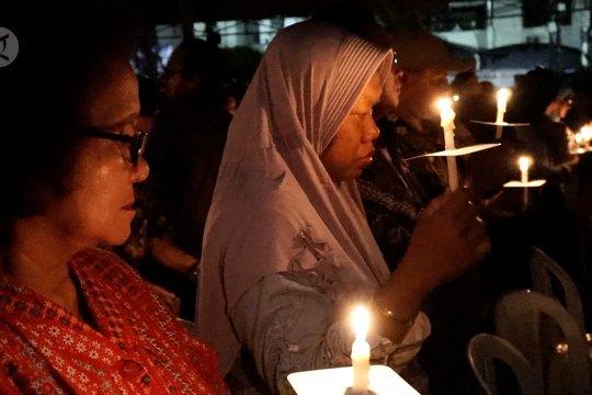 Tokoh agama pimpin peringatan satu tahun Bom Surabaya