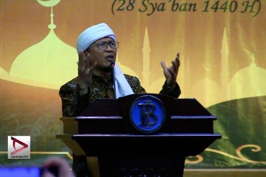 Aa Gym imbau jaga keberkahan Ramadhan dari soal politik