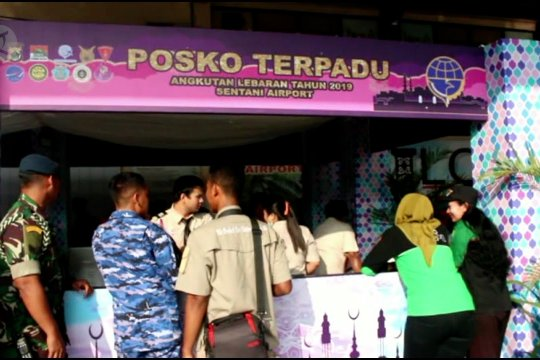 Jumlah pemudik di Bandara Sentani Jayapura menurun