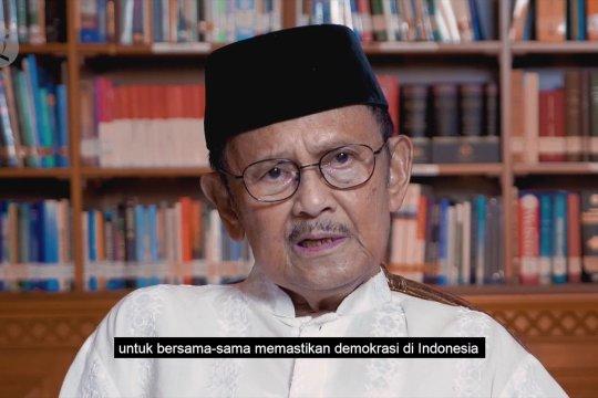 Pesan Habibie: Masyarakat agar terima hasil Pemilu 2019