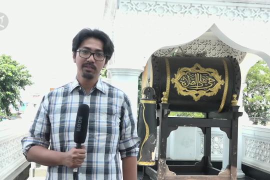 Keunikan Masjid Ramlie bercorak Tionghoa dan India