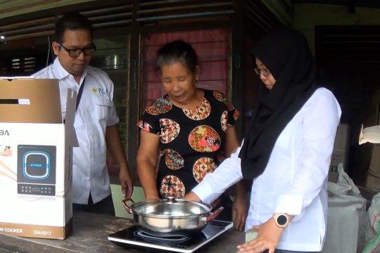 PLN ajak masyarakat Pulau Seliu gunakan kompor induksi