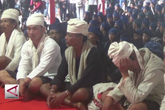 Warga Baduy minta pengesahan perda desa adat ke Gubernur Banten