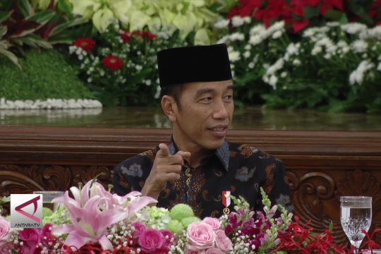 Buka bersama, presiden bahas rencana pemindahan ibu kota