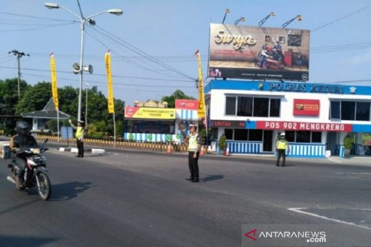 Arus mudik di Mengkreng-Kediri lancar
