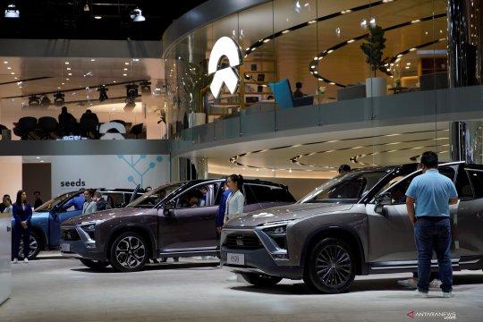 Produsen mobil listrik Nio cari mitra untuk bangun pabrik di Beijing