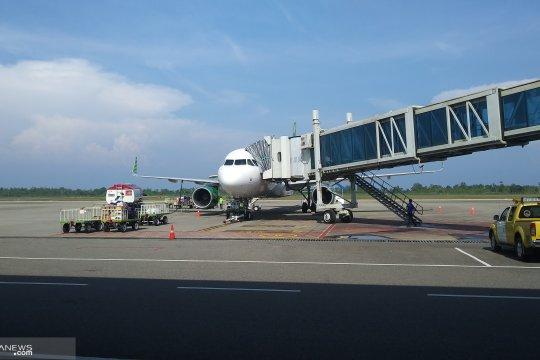 H-5 pemudik lewat udara terus berdatangan di Bandara Minangkabau