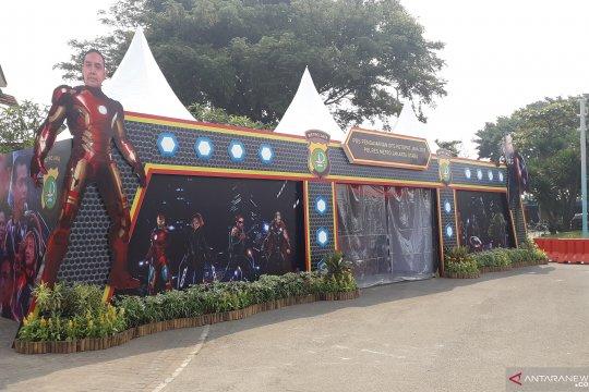 Polres Jakarta Utara dirikan pos pengamanan bertema 'Avenger' di Ancol