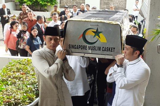 AHY menyampaikan pernyataan keluarga besar Yudhoyono