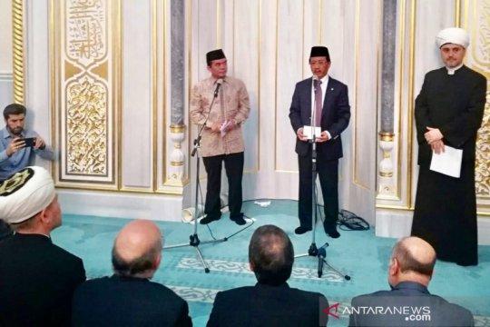 Solidaritas Muslim Indonesia dan Rusia untuk Palestina