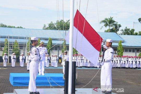Lantamal VI Makassar gelar upacara peringatan Hari Lahir Pancasila
