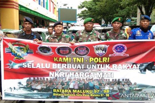 Batara Maluku bagi takjil dan memupuk sinergitas