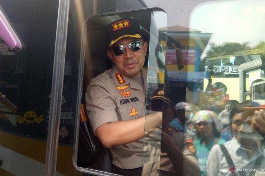 75 polisi disiagakan di Terminal Bus Tanjung Priok amankan arus mudik