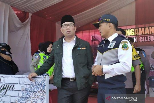 Ridwan Kamil : beban Tol Cileunyi berkurang, pemudik pilih Trans Jawa